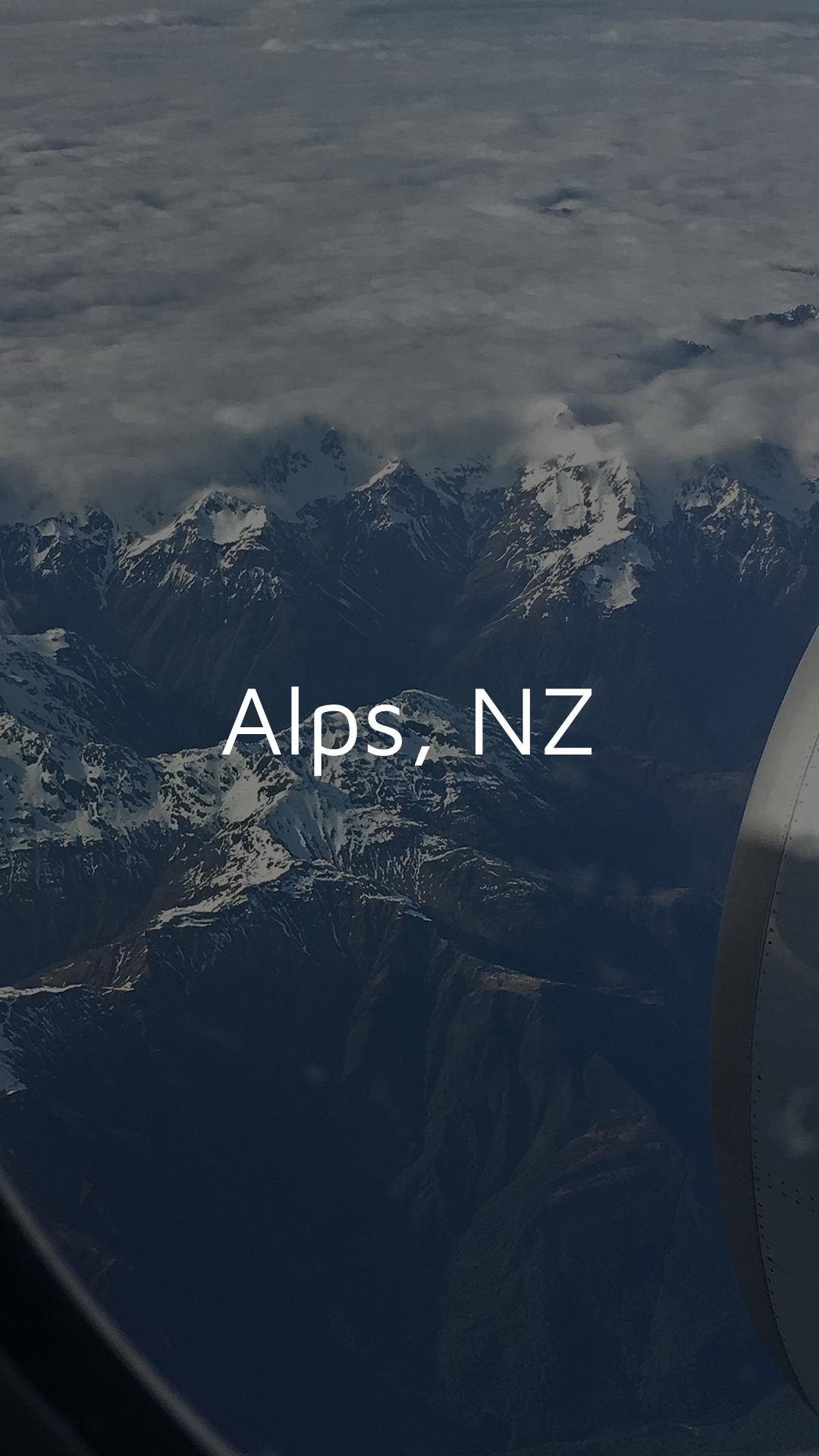 Flug NZ Schnee 1080x1920 Dark