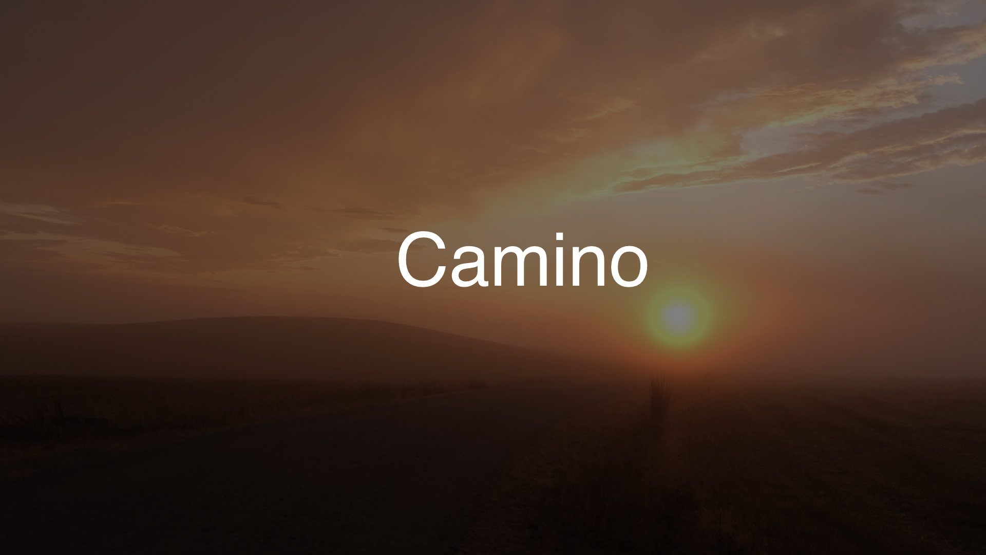 Camino Header 1920×1080 dark