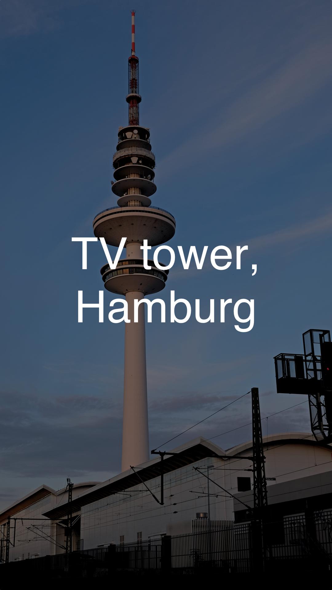 TV-Tower Hamburg 1920x1080 dark