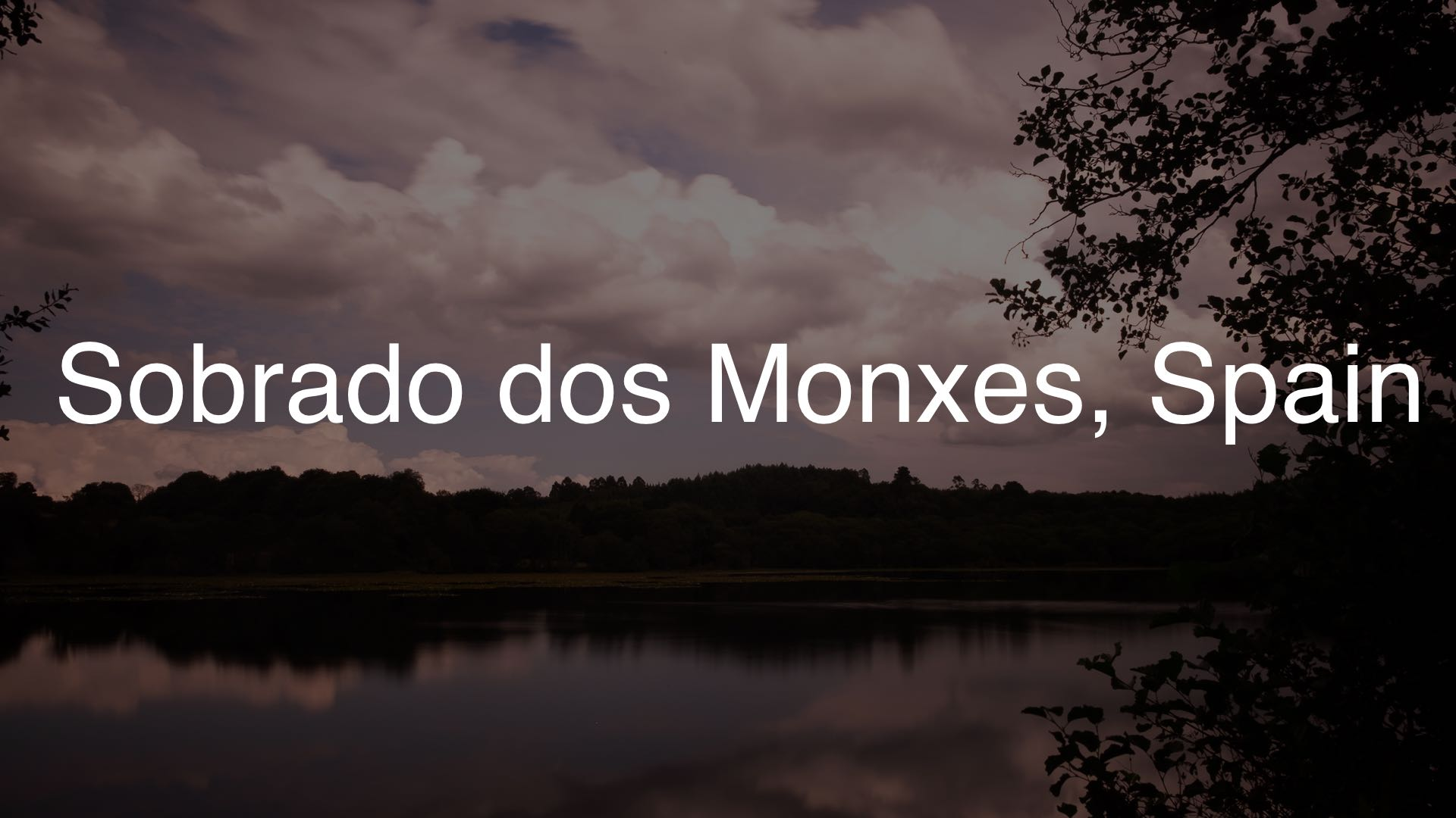 Monks lake 1920×1080 dark